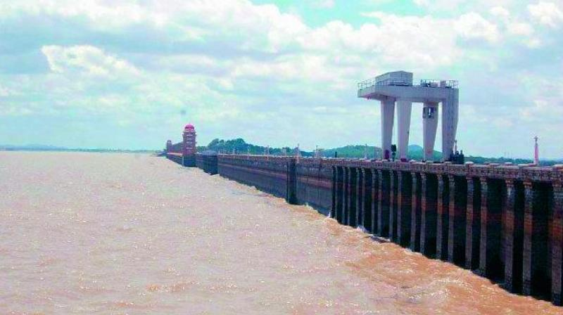 File picture of Tungabhadra reservoir.