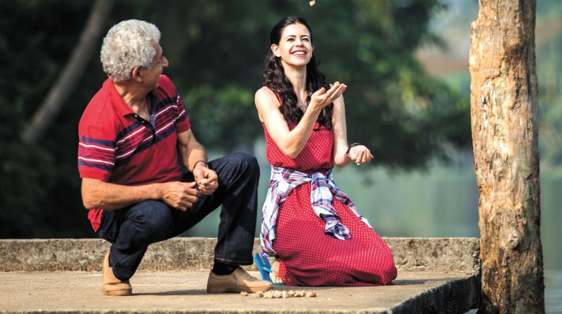 A still from the movie Waiting