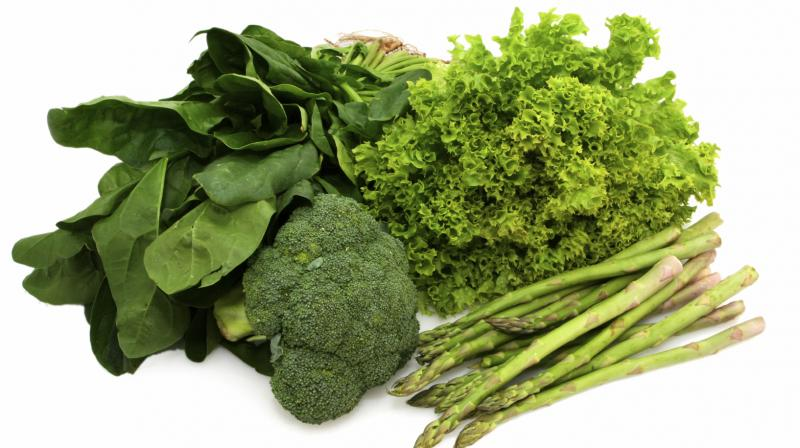 Each year, leafy green vegetables, such as spinach, produce the sugar on an enormous scale globally. (Photo: Representative image)