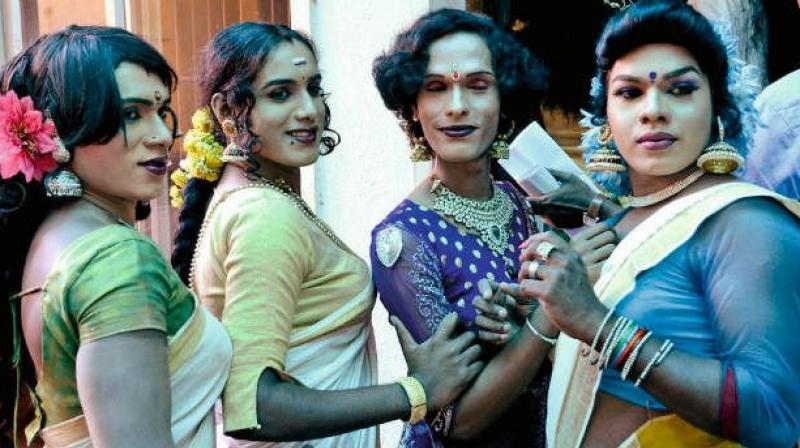 The city traffic police have been receiving strange complaints from people to solve the extortion of transgenders at traffic junctions in the city. (Representational image)