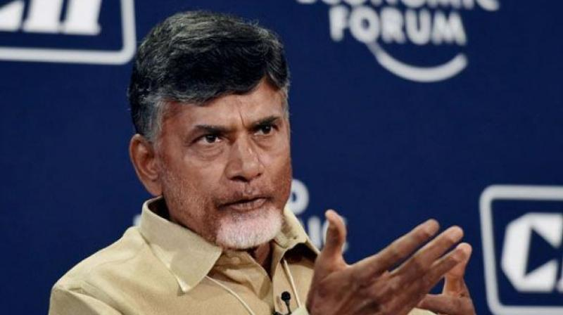 Image result for chandrababu naidu fire on media in srikakulam
