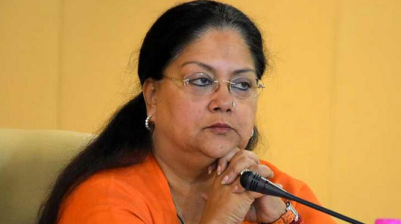 Huge blow to BJP, Vasundhara Raje in Rajasthan byelection