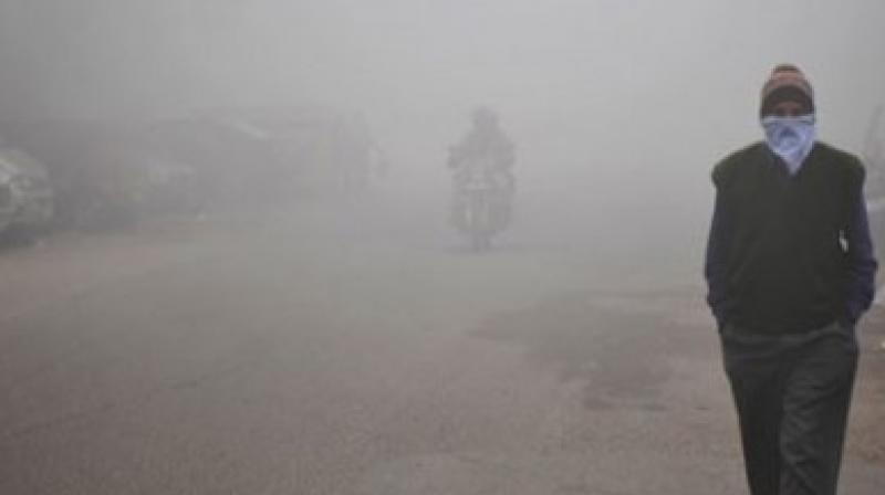 The Greenpeace report, 'Airpocalypse', that assessed air quality in 168 cities across 24 states and union territories, has pinpointed that use of fossil fuels is one of the main culprits for the deteriorating air quality across the country.    (Photo: AFP)