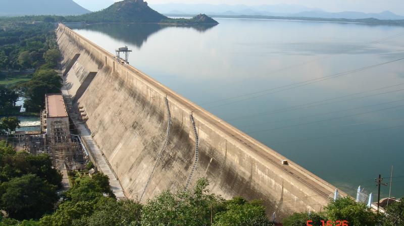 Mettur water dam