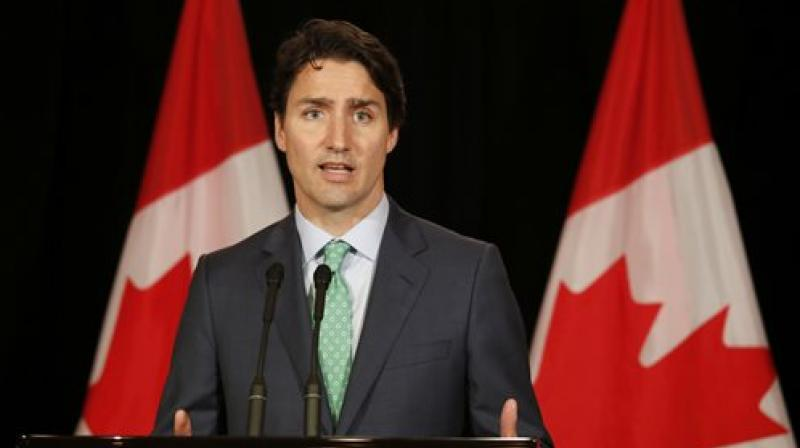 Canadian Prime Minister Justin Trudeau. (Photo: AP)