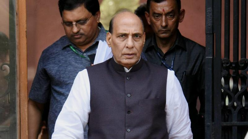 Union Home Minister Rajnath Singh. (Photo: PTI)