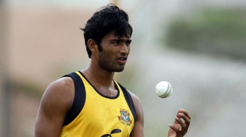 Shahadat Hossain, 33, attacked young bowler Arafat Sunny Jr during a game between Dhaka and Khulna after an argument over how to shine the ball, a board official said. (Photo: AFP)