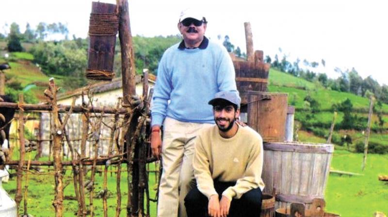 Priyadarshan with his son Sidharth