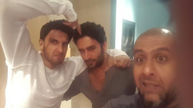 Ranveer Singh visits Vishal-Shekhar and threatens them. Find out why!