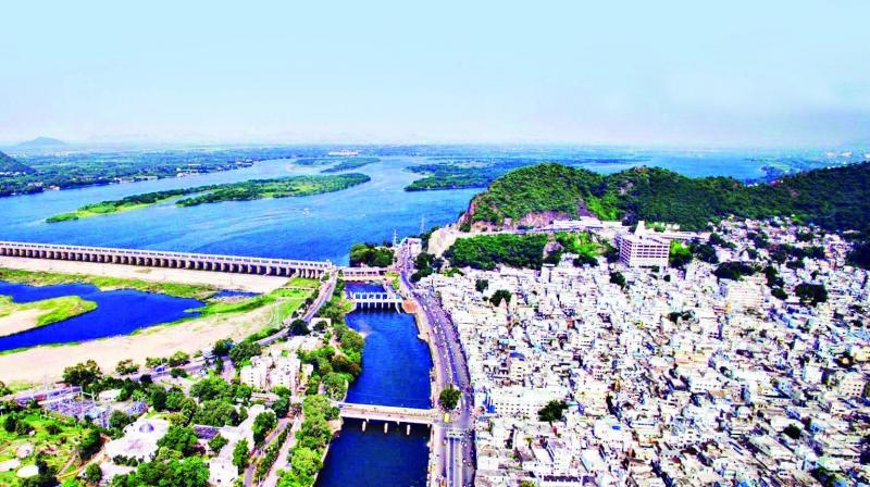Bound by hills and canals, Vijayawada has grown into the world's third most densely packed city.