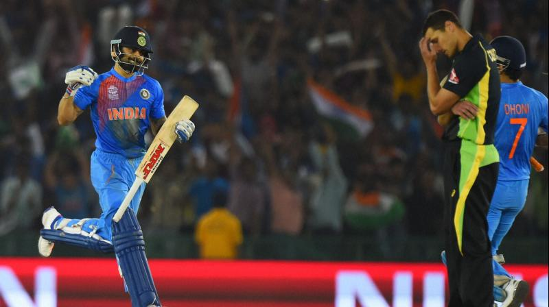 Icc World T20 Virat Kohli S Unbeaten 82 Takes India To Semis