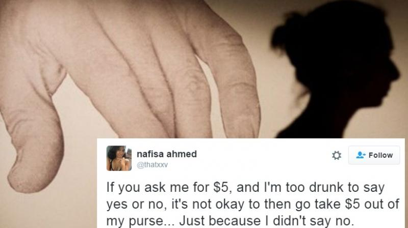 Nafisa Ahmed uses $5 as an analogy (Photo: AFP)