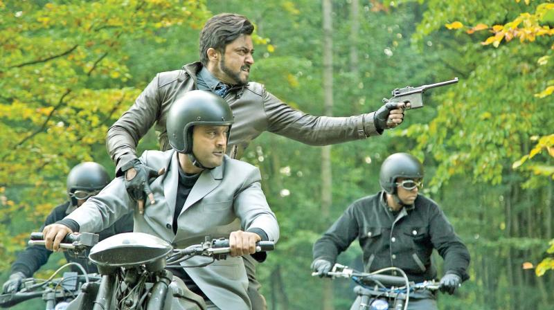 Suriya plays hardcore villain for the first time for the first time suriya becomes a villain in his upcoming flick 24 in altavistaventures Gallery