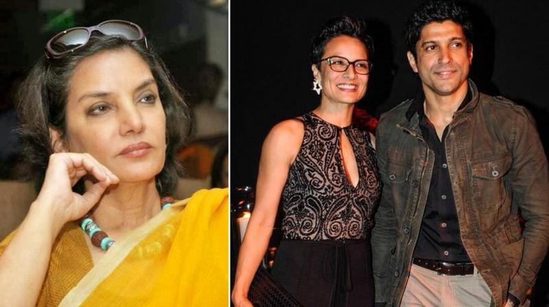 At a recent promotional event, Shabana refused to comment anything further on the much-talked about break-up.