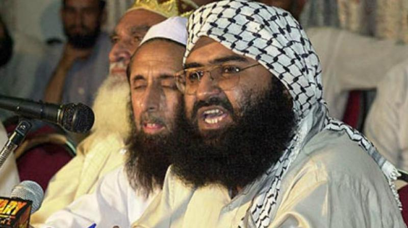India reacts sharply to China again blocking Pakistan-based JeM chief Masood Azhar's designation as a global terrorist by the UN. (Photo: File)