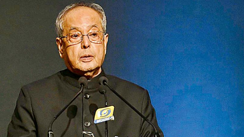 President Pranab Mukherjee. (Photo: File)