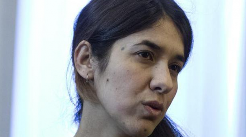Yazidi campaigner Nadia Murad and Dr Denis Mukwege for their work in fighting sexual violence in conflicts around the world. (Photo: File)