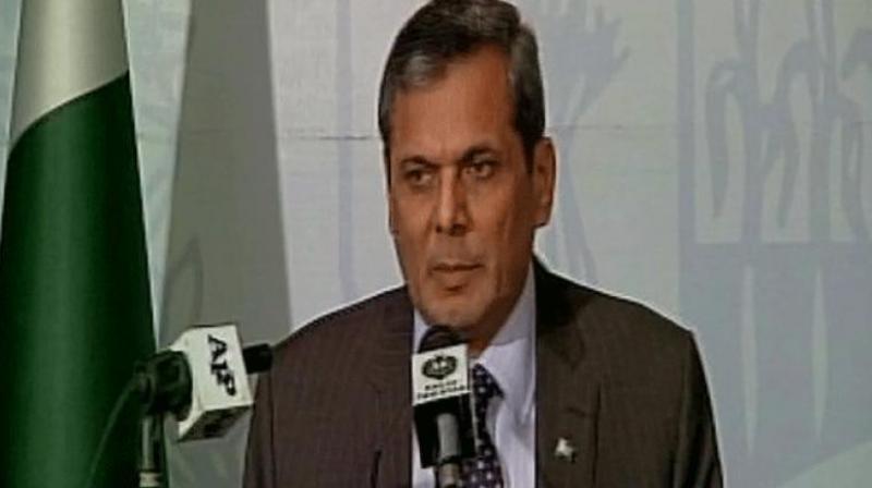 Foreign Office spokesperson Nafees Zakaria. (Photo: ANI/Twitter)