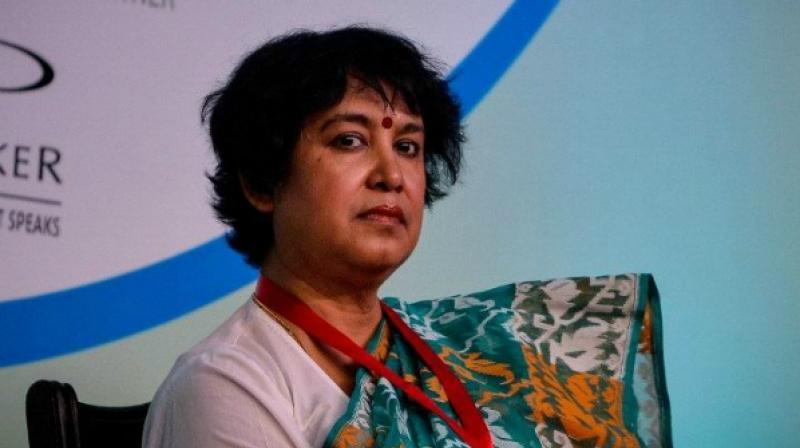 Taslima Nasreen, a citizen of Sweden, has been getting residence permit on a continuous basis since 2004. A Home Ministry official told PTI that her residence permit has been further extended for one more year till July 2020. (Photo: AFP)