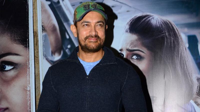 When Aamir stepped out of Sonam Kapoor's film's screening, he had tears in his eyes.