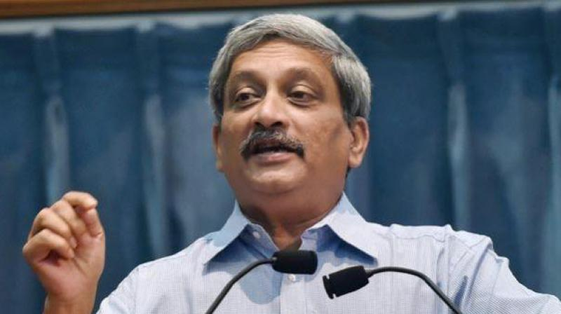 Defence Minister Manohar Parrikar. (Photo: PTI)