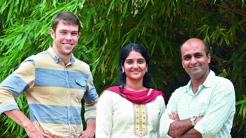 Innovators: Rob Whiting, Mathangi Swaminathan and Roshan Miranda of Waste Ventures India