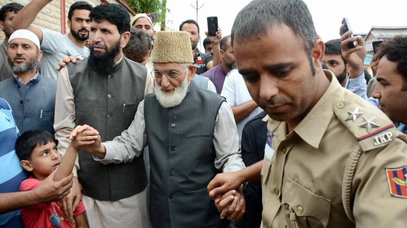 Kashmiri separatist leader Syed Ali Shah Geelani has alleged that the government has devised a 'kill-list' to eliminate people who have not succumbed to their machinations. (Photo: PTI)