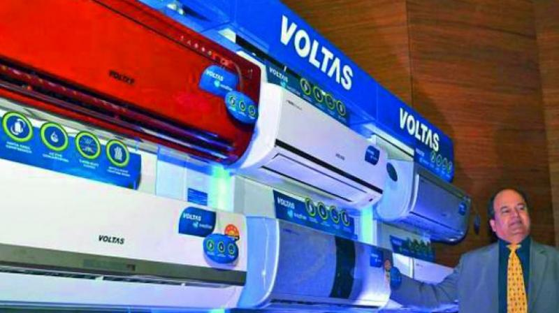 Voltas, among the top ten companies within the Tata group, provides air conditioning and engineering solutions. (Representational image)