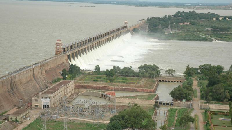 In 1976, the Krishna Dispute Tribunal fixed the sharing of water and the losses in the ratio of 65:35 between Karnataka and Andhra Pradesh. It also fixed the quantum of releases into the river course and into the ancient Vijayanagar tanks and channels.
