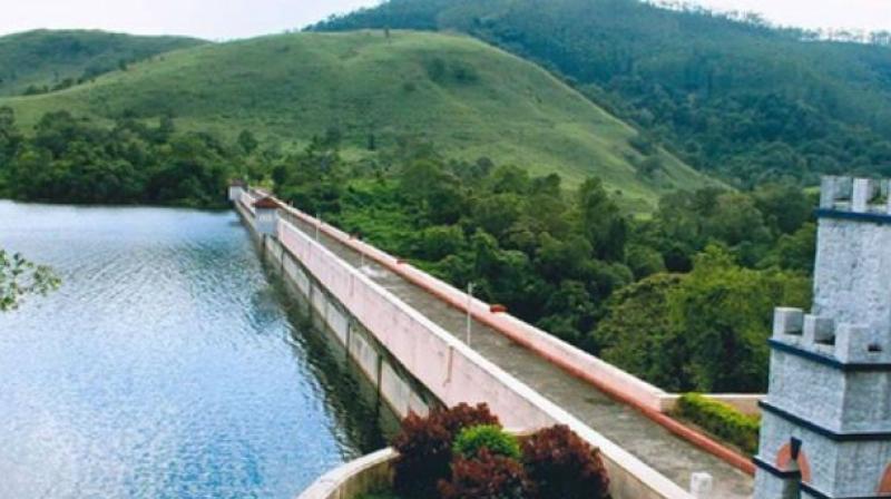 File Picture of Mullaiperiyar dam. (Photo: PTI)