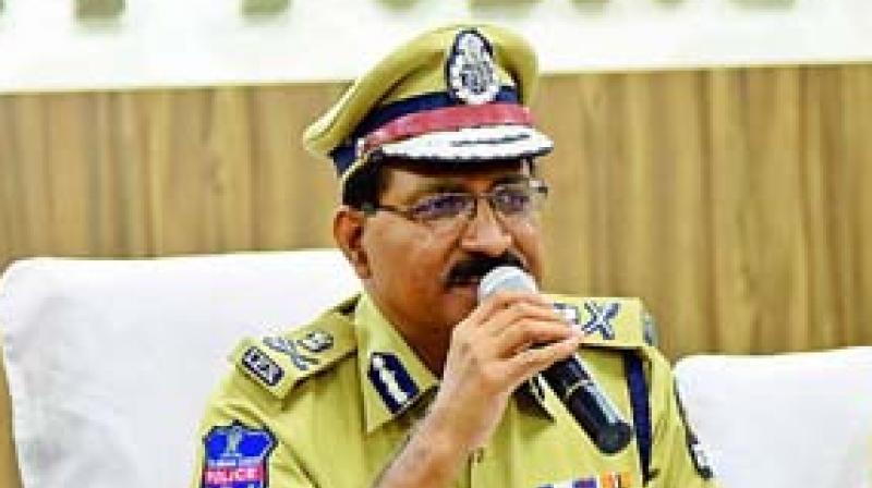 Hyderabad police commissioner, M. Mahender Reddy