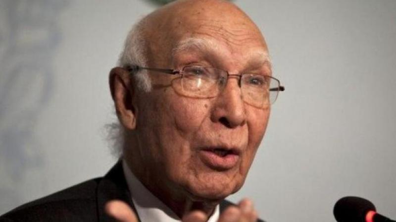 Aziz also felt that elimination of Taliban chief Mullah Akhtar Mansour in a US drone attack last month sabotaged the peace dialogue with Afghanistan. (Photo: PTI)