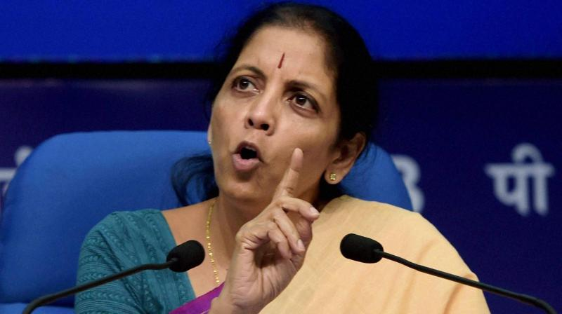 At a media briefing, Sitharaman was asked why the government chose to make the announcements today when there was a 'hangover' of Rajan's decision to leave RBI. (Photo: PTI)