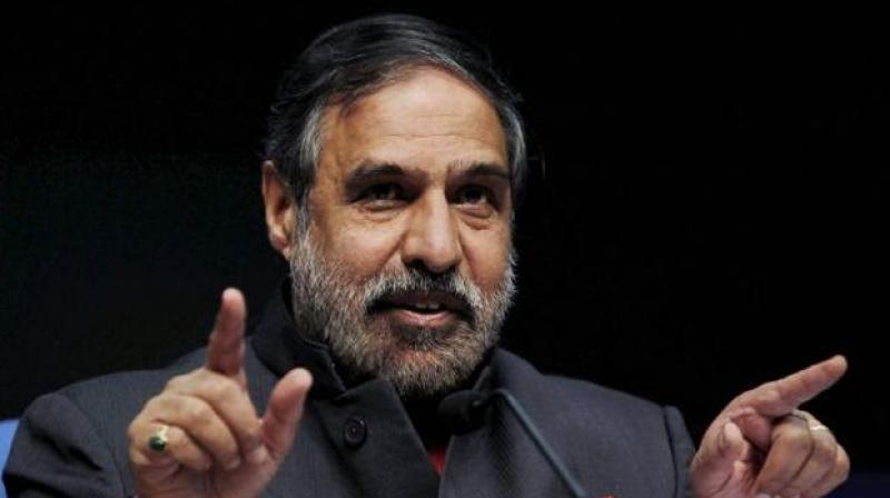 Deputy Leader of Congress Anand Sharma. (Photo: PTI)