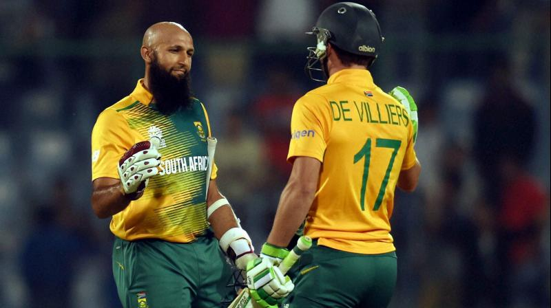 Partnership of Villiers and Amla