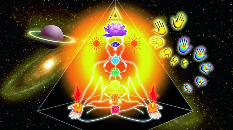 Meditating or just taking a nap under a pyramid helps synchronise the seven chakras of the body