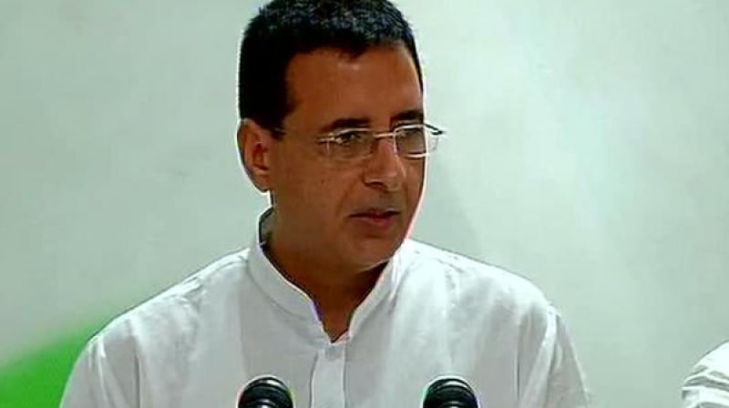 Congress spokesperson Randeep Surjewala (Photo: DC/file)