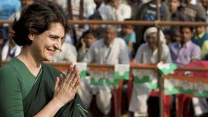 Priyanka was scheduled to address a rally in Sundernagar in support of Mandi Congress candidate Aashray Sharma, a state party leader said. (Photo: PTI)