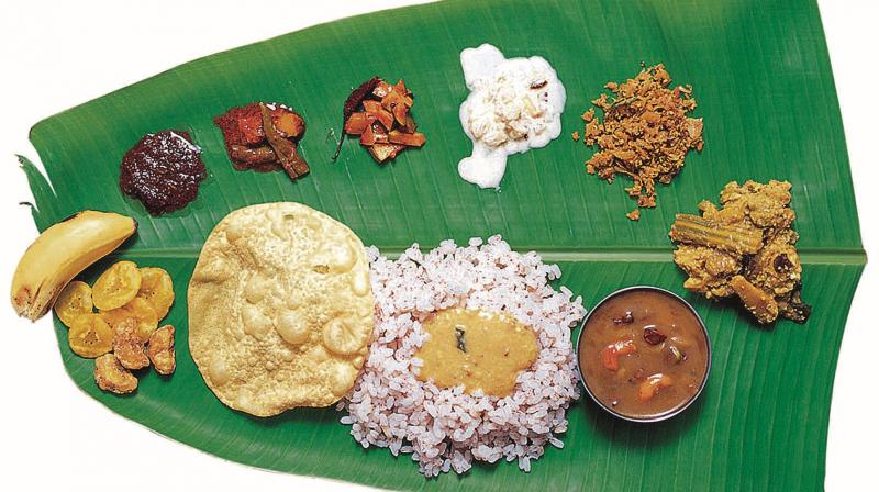 Sadhya special for Ancient indian cuisine