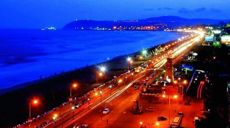 Vizag beach road