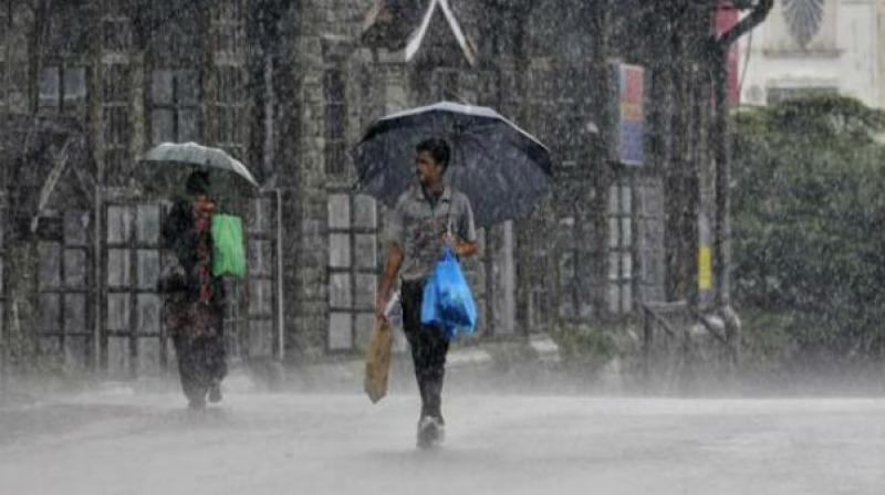 Heavy rainfall at isolated places over south coastal Andhra Pradesh is very likely on October 28 to 30 and over north coastal Tamilnadu on October 29 to 31. (Photo: File)