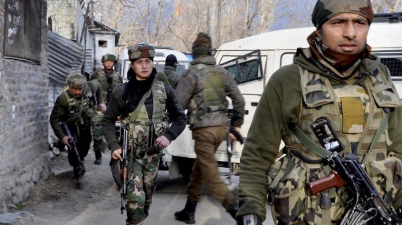 Security forces launched a cordon and search operation in Dadsara area of Tral last night, following information about the presence of militants. (Representational Photo: PTI)
