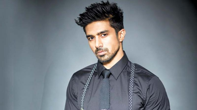 Saqib Saleem in the photoshoot.