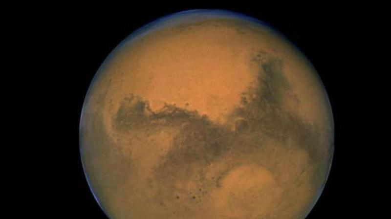 To understand how rainfall on Mars changed over time, the researchers had to consider how its atmosphere has changed.