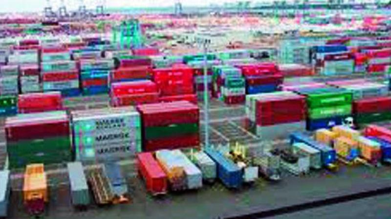 After the bifurcation of undivided AP, Telangana was left with no sea port and the Centre offered to set up a dry port to compensate for it.