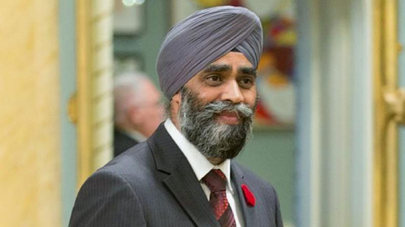 Canada's first Sikh Defence Minister Harjit Sajjan was heckled in Parliament. (Photo: AP)
