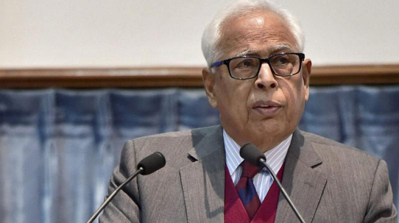 On Tuesday, Governor Narinder Nath Vohra forwarded his report to the President of India for the imposition of Governor's Rule under Section 92 of the Constitution. (Photo: File | PTI)