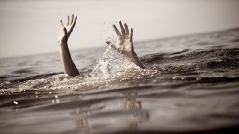 Image result for hand under river suicide image