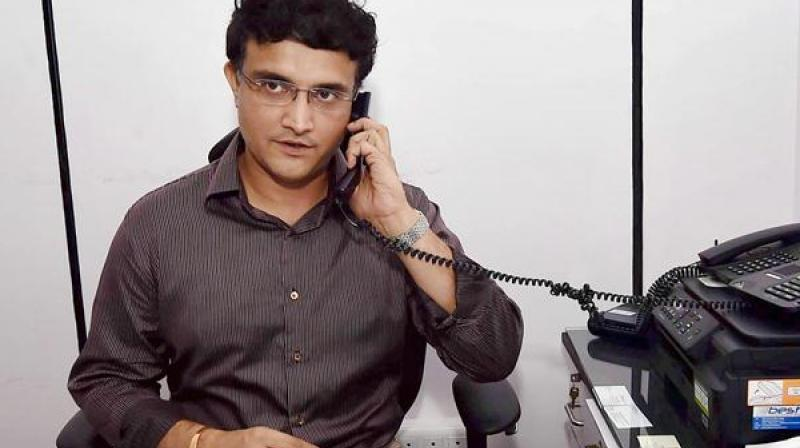 Former India skipper and the president of Cricket Association of Bengal (CAB), Sourav Ganguly, believes he isn't qualified enough to be the BCCI president. (Photo: PTI)
