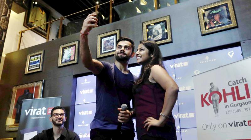 India's run-machine, who is reportedly dating Bollywood actress Anushka Sharma revealed he is yet to see the iconic Taj Mahal in Agra and never been to Vaishno Devi, a popular pilgrimage spot for North Indians. (Photo: PTI)